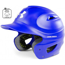 Under Armour Бейсбольные шлемы для бейсбола Атласный литой шлем, сертифицированный NOCSAE