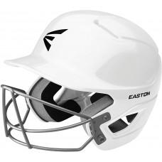 EASTON Alpha Шлем ватин с маской | Бейсбол софтбол | 2020 | Ударопоглощающая пена двойной плотности | Ударопрочный ABS корпус | Влагоотводящий BioDRI Liner | Съемный логотип