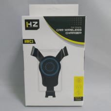 Автодержатель для телефона с беспроводной зарядкой HZ HWC3