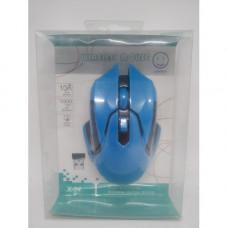Беспроводная оптическая мышка мышь X-04 СИНЯЯ