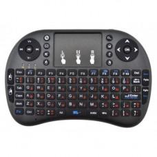 Беспроводная клавиатура с тачпадом Rii mini i8