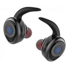 Bluetooth наушники стереогарнитура Awei T1 Чёрный