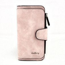 Женский кошелек клатч портмоне Baellerry Forever N2345 светло-розовый