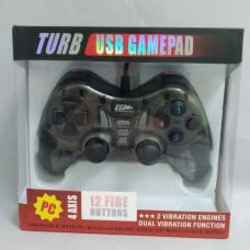 Игровой манипулятор TURBO USB GAMEPAD DJ-900 джойстик для ПК Чёрный