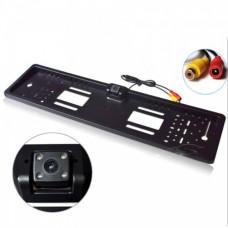 Камера заднего вида в рамке номера JX-9488