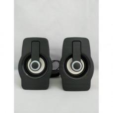 Компьютерные колонки акустика 2.0 USB FnT FT-185 Чёрные