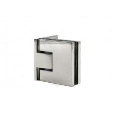 KLC-02-01-02 Петля для душевых кабин стекло-стена 180 град полированная