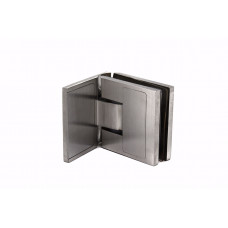 KLC-02-01-01 Петля для душевых кабин стекло-стена 180 град матовая