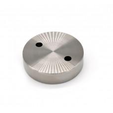 ODF-06-15-01 Коннектор круглый d40 под ключ М10, сатин. для стеклянных ограждений и перил из стекла