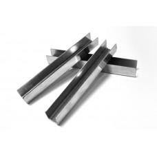 ODF-04-10-02-L2500 Профиль под уплотнитель из нержавейки под стекло 8-10 мм