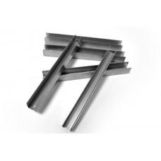 ODF-04-09-01-L2500 Профиль из нержавейки под стекло 12 мм (сатин)