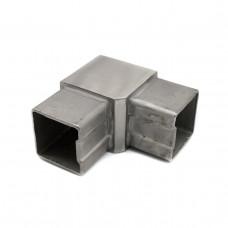 KLC-10-11-01  Соединитель квадратного поручня 40*40 мм под 90 градусов