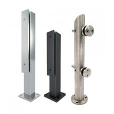 Фурнитура для стекла, крепежные системы для стекла и стеклянных конструкций, держатели для стекла фурнитура