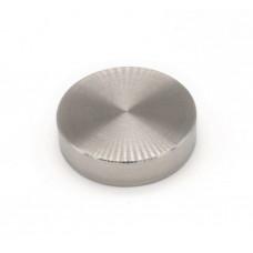ODF-06-03-01 Коннектор круглый d40 М8, для стеклянных ограждений, сатин