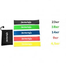 Резинка для фитнеса и спорта Esonstyle (эластичная лента эспандер) набор 5 шт + Чехол в комплекте