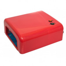 УФ лампа для наращивания ногтей на 36 Вт Красная