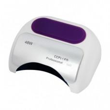 УФ лампа для ногтей Beauty nail 18K CCFL LED 48W сушилка сенсор Белый