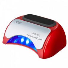 УФ лампа для ногтей Beauty nail 18K CCFL LED 48W сушилка сенсор Красный